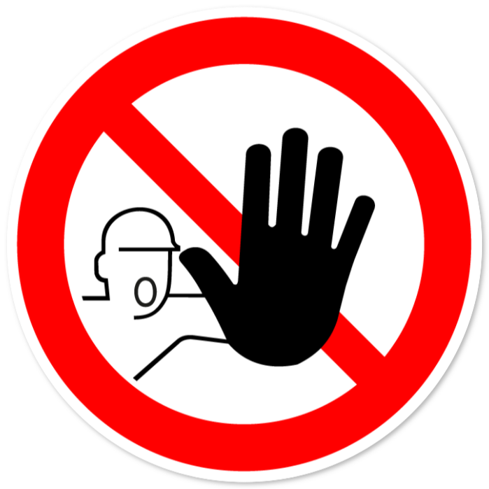 verbodsborden